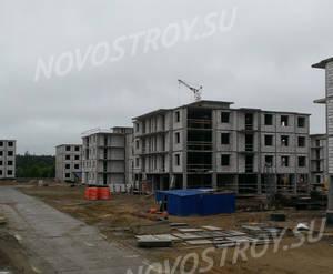 Малоэтажный ЖК «ЗемлЯнино»: ход строительства корпуса №1,2,4,5,6