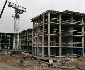 Малоэтажный ЖК «ЗемлЯнино»: ход строительства корпуса №3