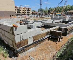 Малоэтажный ЖК «Театральный парк»: ход строительства корпуса №29-30