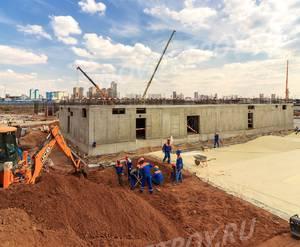 ЖК «Город на Реке Тушино-2018»: ход строительства 2 очереди