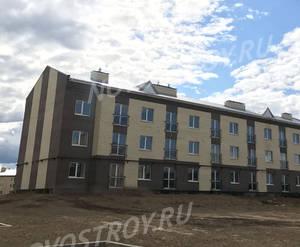 Малоэтажный ЖК «Борисоглебское»: ход строительства корпуса №204