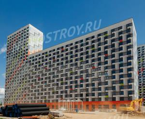 ЖК «Римского-Корсакова 11»: ход строительства корпуса №1