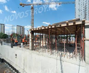 ЖК «Квартал на Никулинской»: ход строительства 3 корпуса