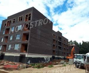 Малоэтажный ЖК «ЗаМитино»: ход строительства корпуса №2