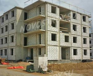 Малоэтажный ЖК «ЗемлЯнино»: ход строительства корпуса №4,5