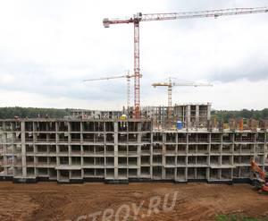 ЖК «Кленовые аллеи»: ход строительства корпуса №3