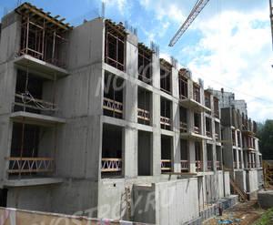 ЖК «Квартал на Никулинской»: ход строительства корпуса №3