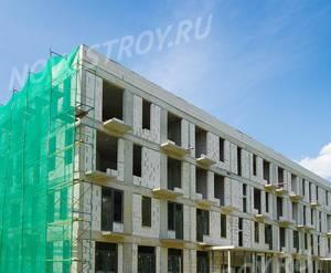 Малоэтажный ЖК «Южная Долина»: ход строительства корпуса №13