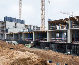 ЖК «Митино Парк»: ход строительства корпуса №3