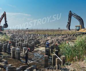 ЖК «Светлый мир «Тихая гавань»: ход строительства(июль)