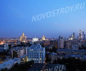 МФК «Резиденция Тверская»: визуализация (вид из окна)