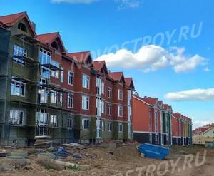 Малоэтажный ЖК «Бакеево-Парк»: ход строительства дома №12