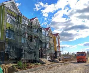 Малоэтажный ЖК «Бакеево-Парк»: ход строительства дома №13