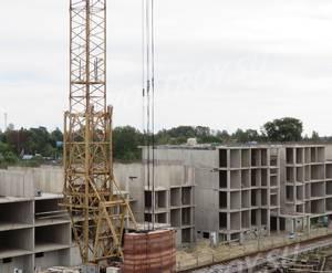 ЖК «Финские кварталы»: ход строительства (август, 2018)
