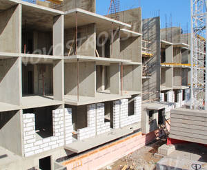 Малоэтажный ЖК «Новый Петергоф»: ход строительства корпуса №5.1