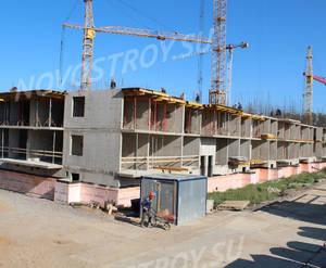 Малоэтажный ЖК «Новый Петергоф»: ход строительства корпуса №5.4