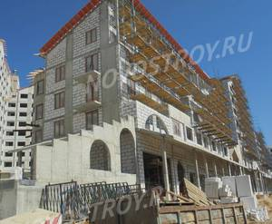 ЖК UP-квартал «Римский»: ход строительства корпуса №2