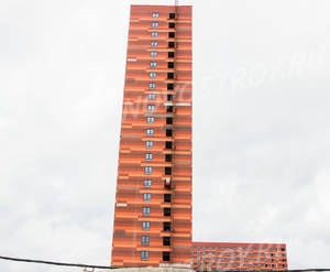 ЖК «Одинцово-1»: ход строительства корпуса №1.9