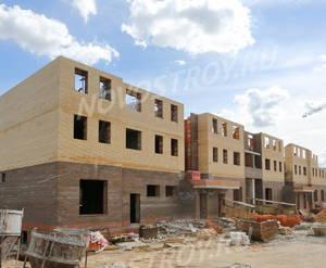 Малоэтажный ЖК «Театральный парк»: ход строительства корпуса №31