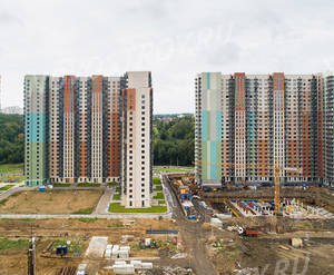 ЖК «Мир Митино»: ход строительства корпуса №10.1,10,9