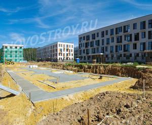 Малоэтажный ЖК «Южная Долина»: ход строительства корпуса №15