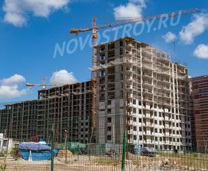 ЖК «Зеленые аллеи»: ход строительства корпуса №2.8