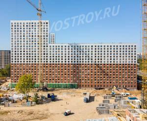 ЖК «Ясеневая 14»: ход строительства блока №1