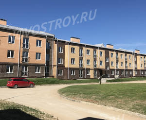 Малоэтажный ЖК «Борисоглебское»: ход строительства корпуса №163