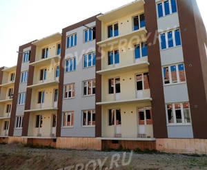 Малоэтажный ЖК «Пушкарь»: ход строительства корпуса №1 из группы застройщика