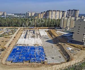 ЖК «Афродита-2»: ход строительства парковки