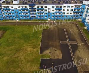 Малоэтажный ЖК «Дом с фонтаном»: скриншот с видеообзора