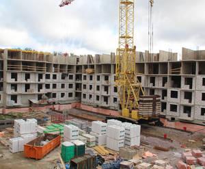 Малоэтажный ЖК «Новый Петергоф»: ход строительства корпуса №5.1 из группы застройщика