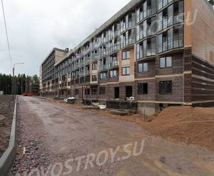Малоэтажный ЖК «Чистый ручей»: ход строительства корпуса №4