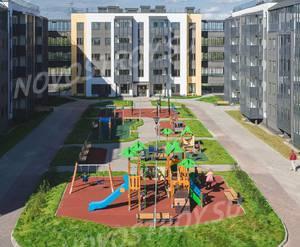 Малоэтажный ЖК «Финский городок Юттери»: ход строительства корпуса №10 из группы застройщика