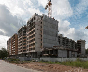 ЖК «Ломоносовъ» (Петродворцовый): ход строительства корпуса №1,2