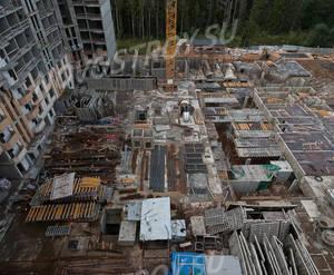 ЖК «Ломоносовъ» (Петродворцовый): ход строительства корпуса №2,3