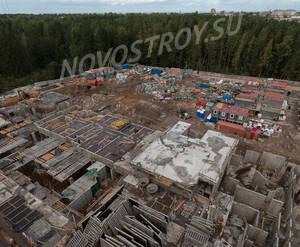 ЖК «Ломоносовъ» (Петродворцовый): ход строительства корпуса №3