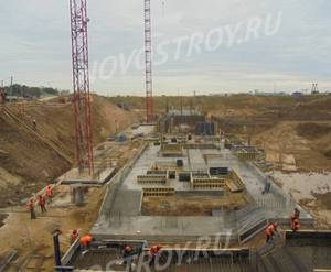 ЖК UP-квартал «Римский»: ход строительства корпуса №3