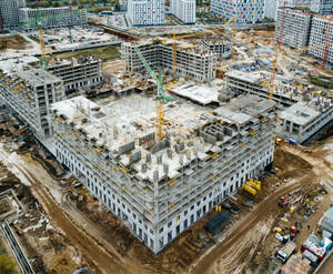 ЖК «Green Park»: ход строительства блока №5