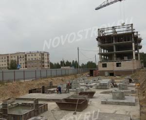 Малоэтажный ЖК «Новое Бисерово 2»: ход строительства дома №7