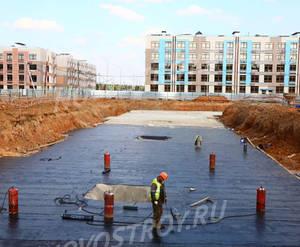 ЖК «Новогорск Парк»: ход строительства корпуса №6Ж из группы застройщика