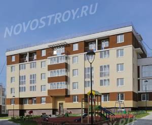 Малоэтажный ЖК «Малина»: ход строительства корпуса №3.1