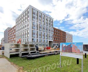 ЖК «Первый квартал»: ход строительства дома №1 из группы застройщика