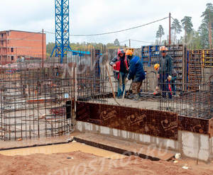 Малоэтажный ЖК «Пушкарь»: ход строительства корпуса №2