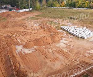 Малоэтажный ЖК «Пушкарь»: ход строительства корпуса №3
