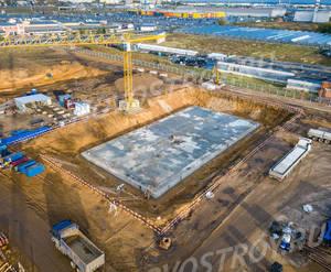 ЖК «Белая Дача парк»: ход строительства корпуса №1