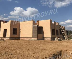 Малоэтажный ЖК «Борисоглебское»: ход строительства корпуса №34