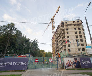 ЖК «Счастье в Тушино»: ход строительства