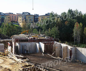 Малоэтажный ЖК «EcoCity»: ход строительства