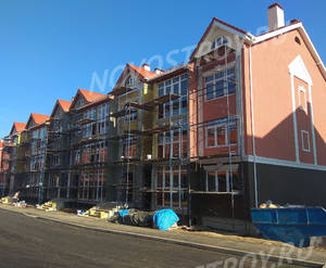 Малоэтажный ЖК «Бакеево-Парк»: ход строительства корпуса №12 из группы застройщика